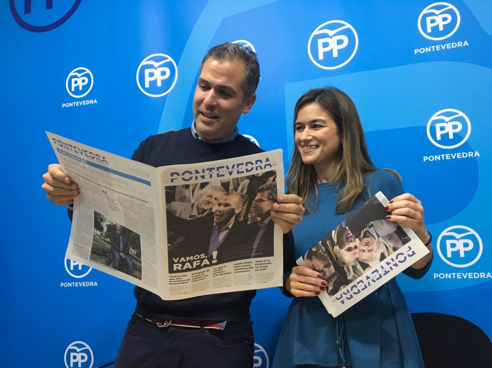 presentación periódico
