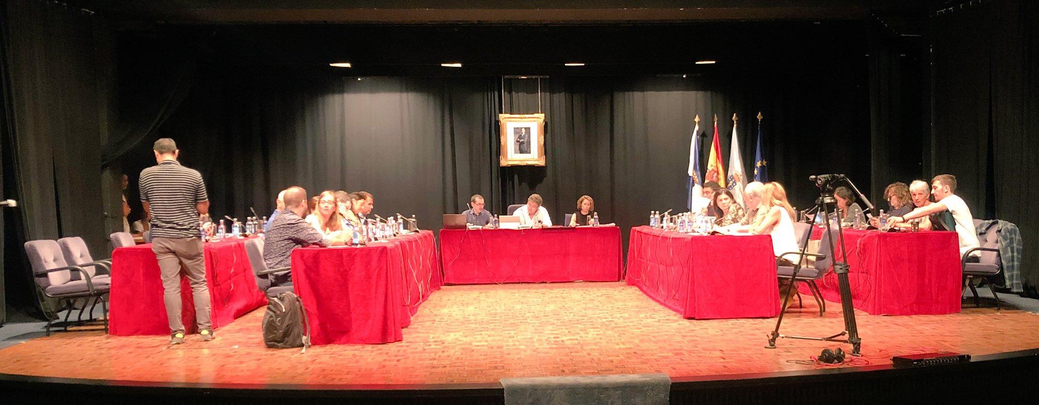 Pleno municipal Pontevedra