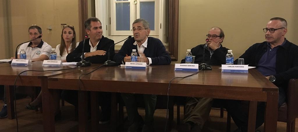 charla mateo lafragua en Pontevedra