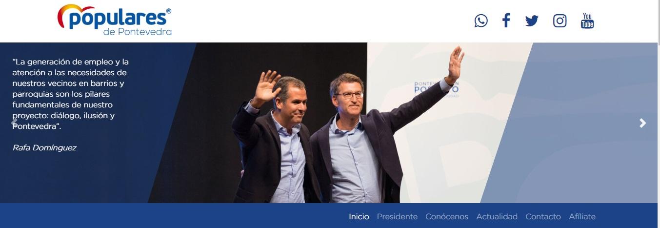 Nueva web PP Pontevedra