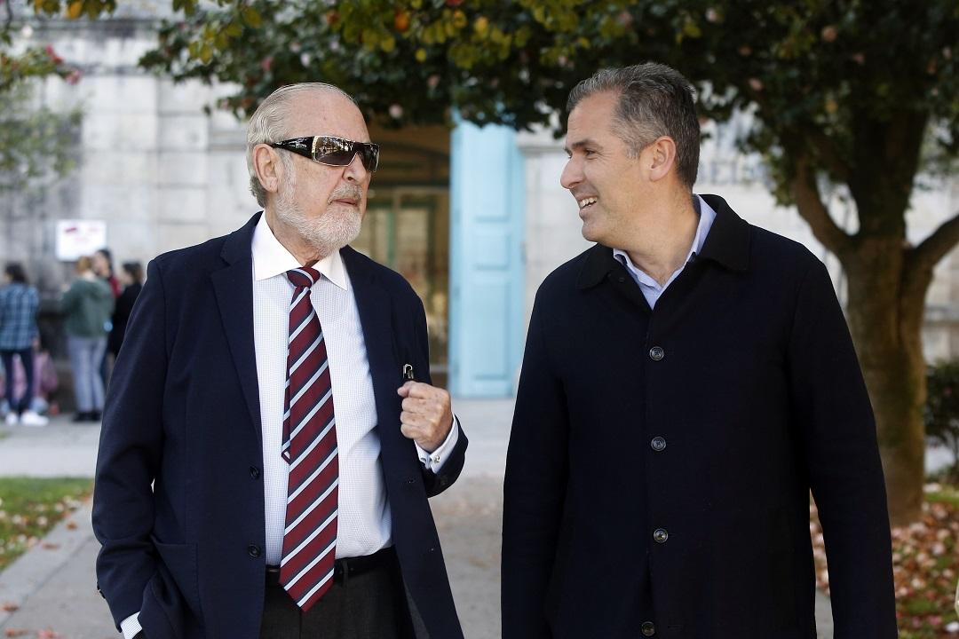 Rafa Domínguez con Cobian