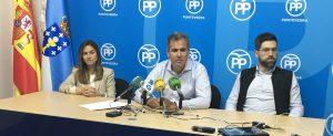 Rueda de Prensa Abrir Pontevedra a la Ría