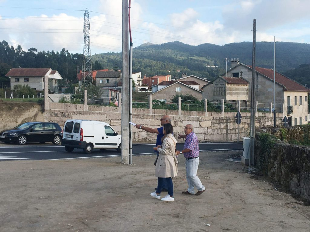 Obras zona Pintor Laxeiro Pontevedra