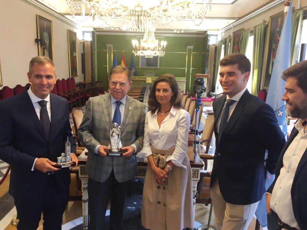 Visita ayuntamiento de Oviedo