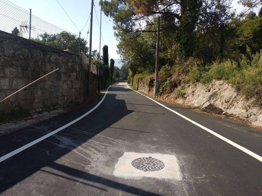 Mejora seguridad vial en Pintor Laxeiro