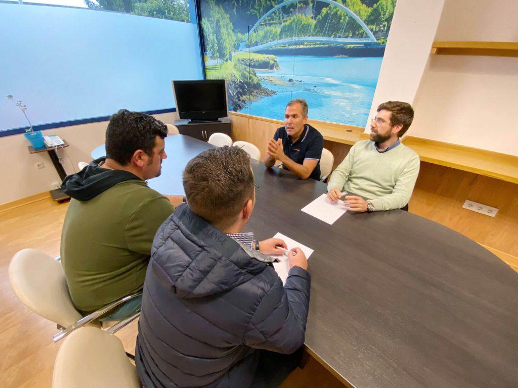 Reunión con representantes del colectivo de taxistas de Pontevedra