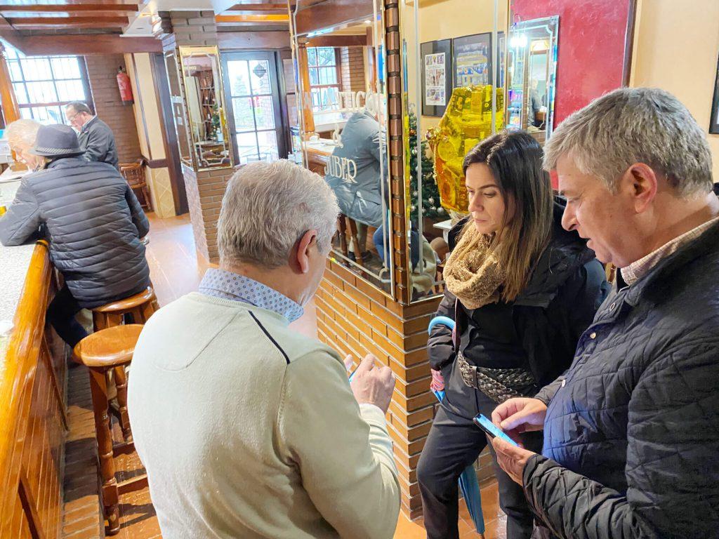 Afectados por las inundaciones de Pontevedra