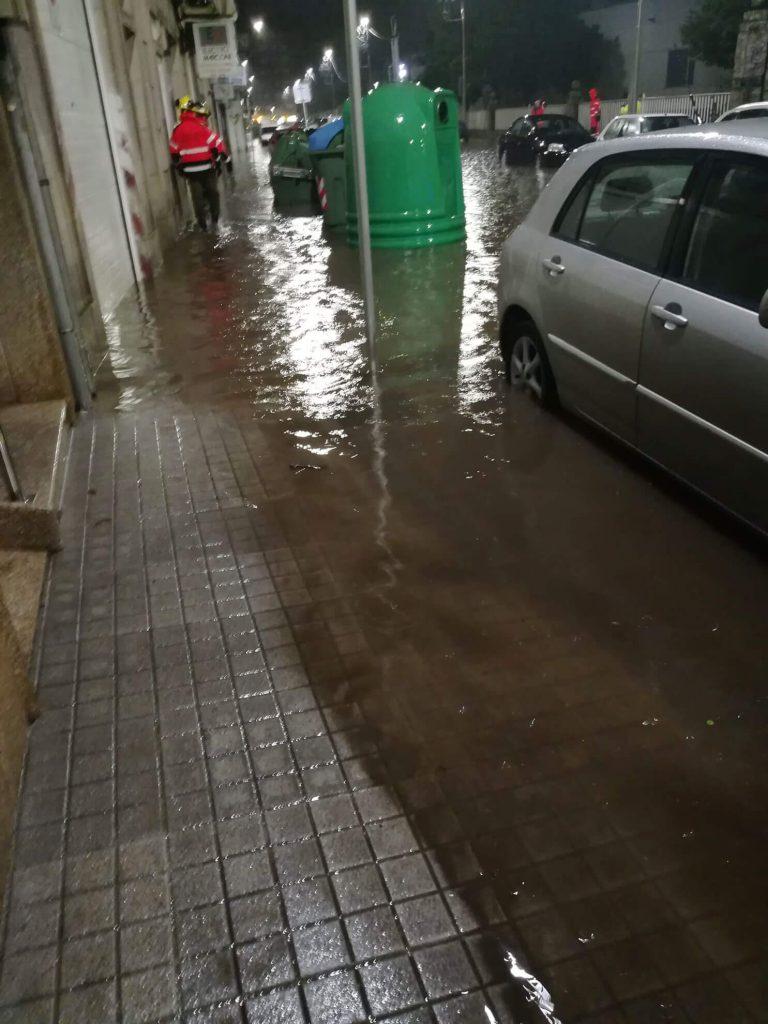 Pontevedra inundada