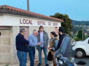 Martín Martínez denuncia el abandono del rural de Pontevedra