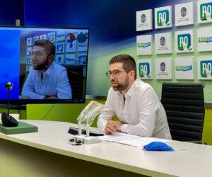 Pablo Fernández, rueda prensa PXOM Pontevedra