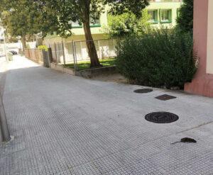 Ratas en Campolongo, Pontevedra
