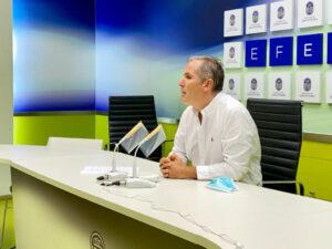 Rafa Domínguez rueda prensa entrega remanente al gobierno central