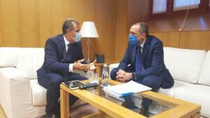 Rafa Domínguez reunión con Sanidade sobrel el Gran Montecelo
