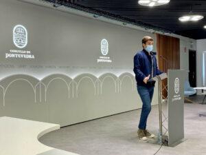 Rueda de prensa Guille Juncal sobre deporte municipal