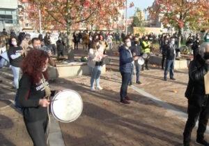 Manifestación hostelería Pontevedra