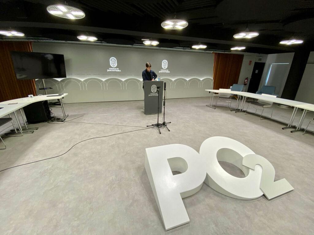 Guille Juncal uso instalaciones deportivas Pontevedra