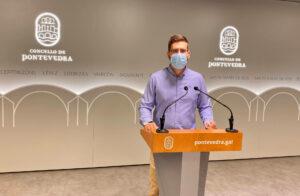Pablo Fernández, concejal PP Pontevedra