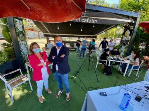 Domínguez organiza un desayuno informativo para hacer un balance sobre las propuestas y la auditoria del Partido Popular de Pontevedra a mitad de legislatura