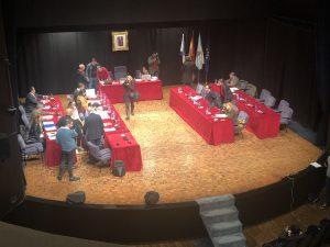 Pleno de Pontevedra