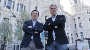 Con Martínez Almeida
