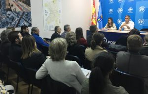 Reunión Junta local PP Pontevedra previa elecciones municipales 2019