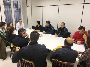 Reunión con el personal del Concello de Pontevedra