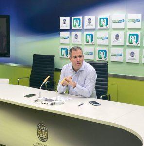 Rafa Domínguez propone un trazado alternativo para la variante de Alba