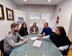 Reunión con AEMPE para analizar las causas y consecuencias de los problemas de tráfico de Pontevedra