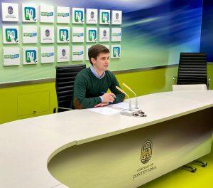 Rueda de prensa Guille Juncal para mejorar el proyecto del skatepark