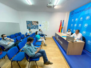 Junta local del Partido Popular de Pontevedra