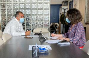 Reunión con entidades sociales de Pontevedra por el COVID19