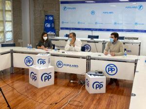 Reunión empresarios Pontevedras ayudas PYMES y autónomos
