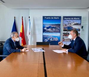 Reunión Puerto de Marín para tratar el cierre de Ence